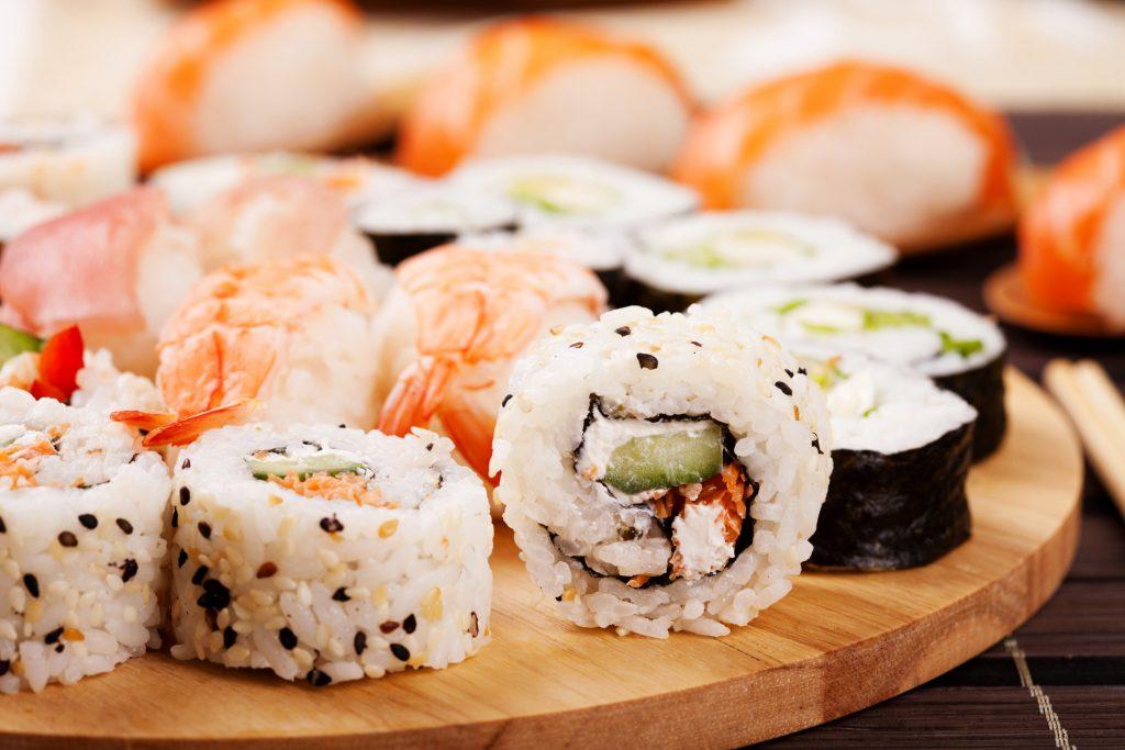 Sushi udvikler sig stadig