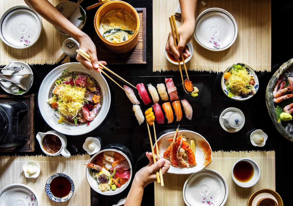 Sushi etikette – det er ikke så svært
