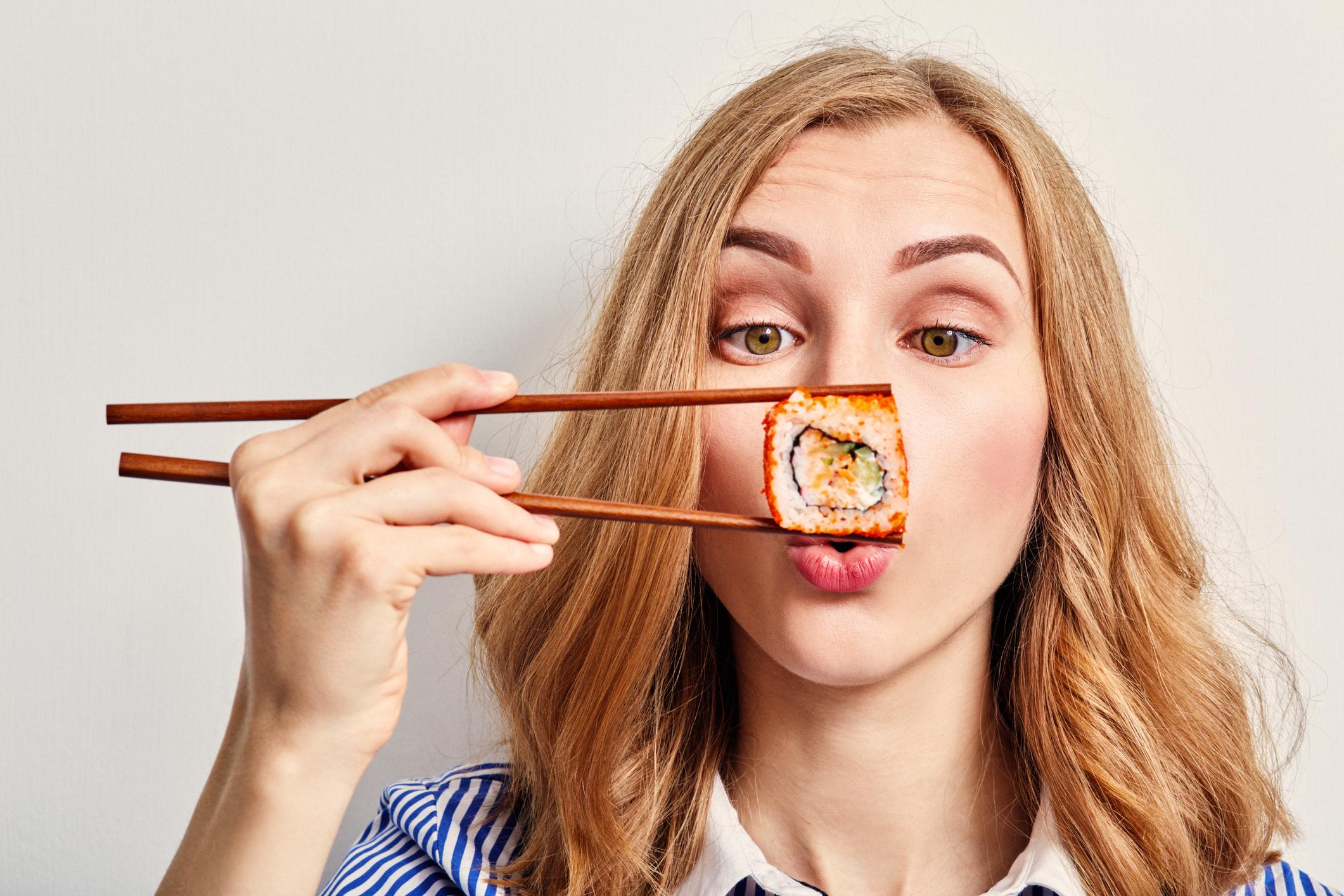 Er sushi sundt?
