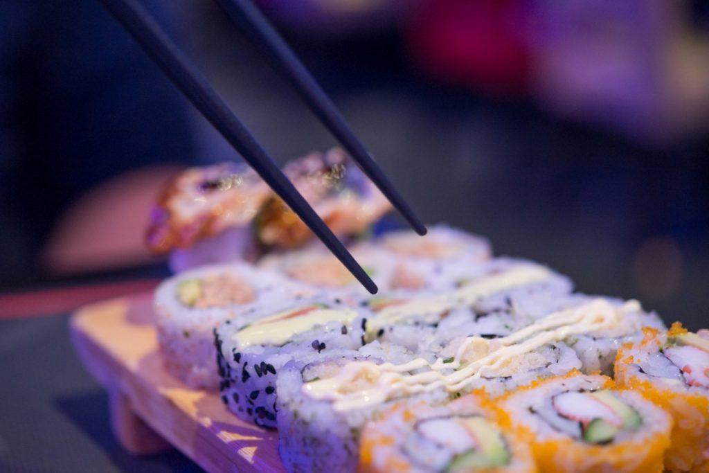 Tre stjerner – også til sushi